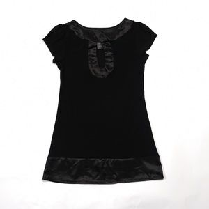 Wet Seal Black Short Sleeve Top